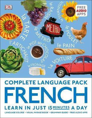 complete language pack french:learn in just 15 minutes a day (complete language packs)