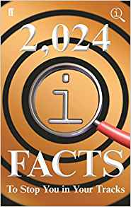 2024 qi facts to stop you in your tracks (quiz books)