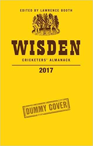wisden cricketers' almanack 2017
