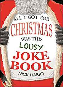 all i got for christmas was this lousy joke book: